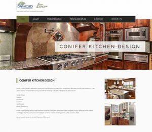 Conifer Kitchen Design website