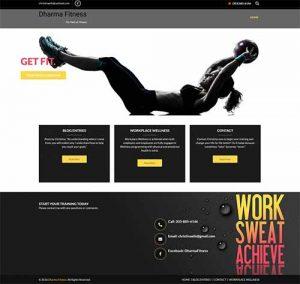 Dharma Fitness website