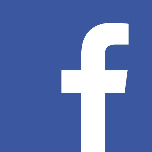 facebook logo, blue