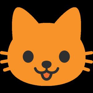 Smiley face, kitty