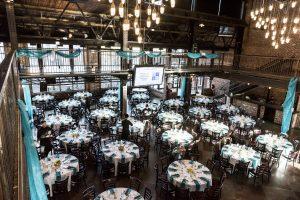 Non profit fundraiser banquet - Social media