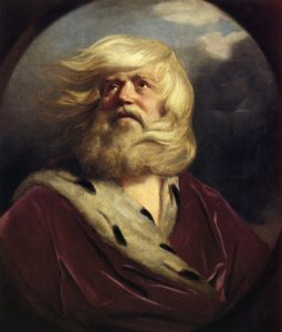 Painting of King Lear
