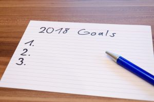 2018 Goals - blank paper