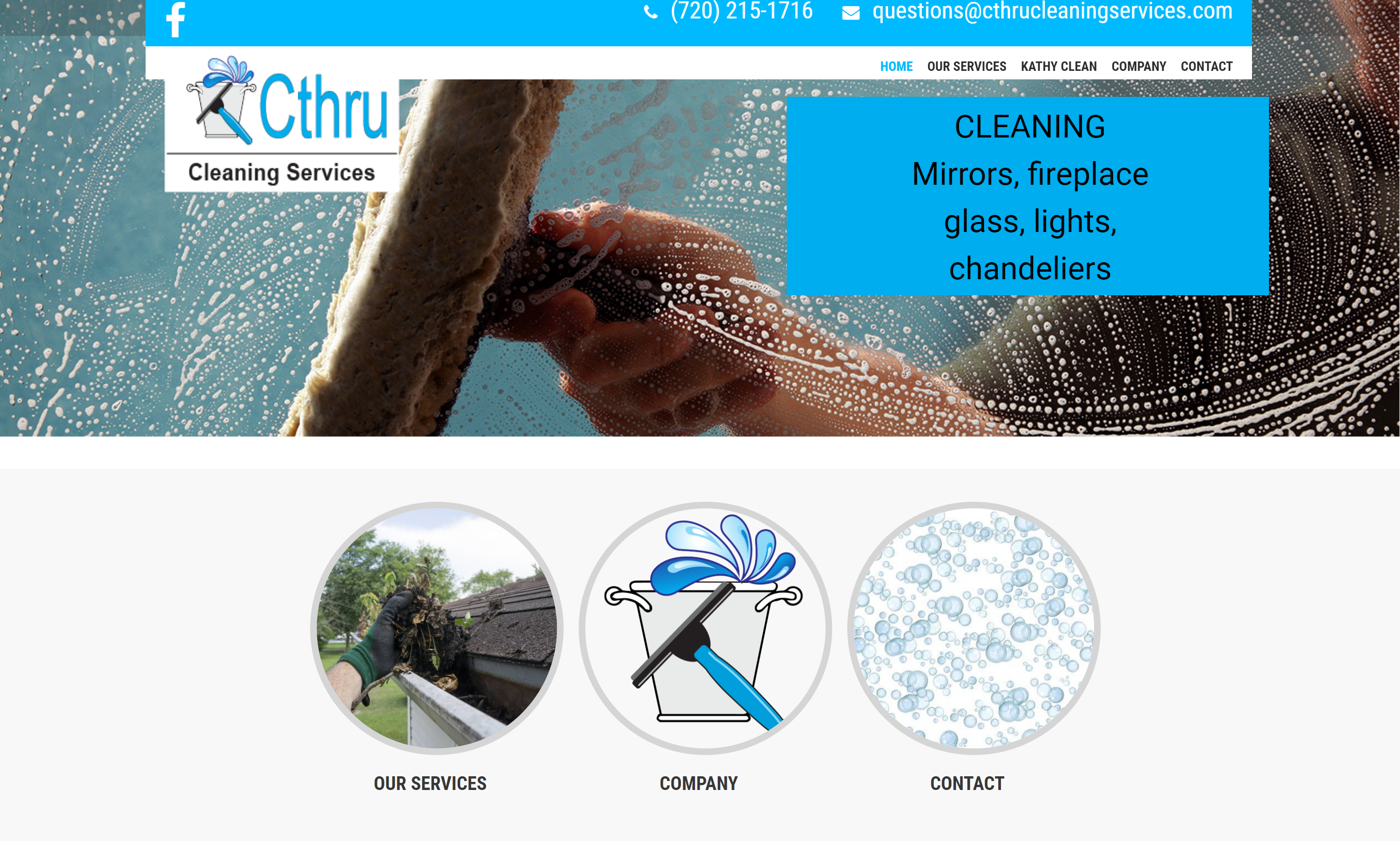 CThru Cleaning Website