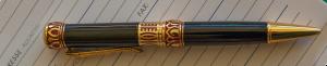 A fancy black pen