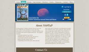 Website - Native American Sacred Trees & Places