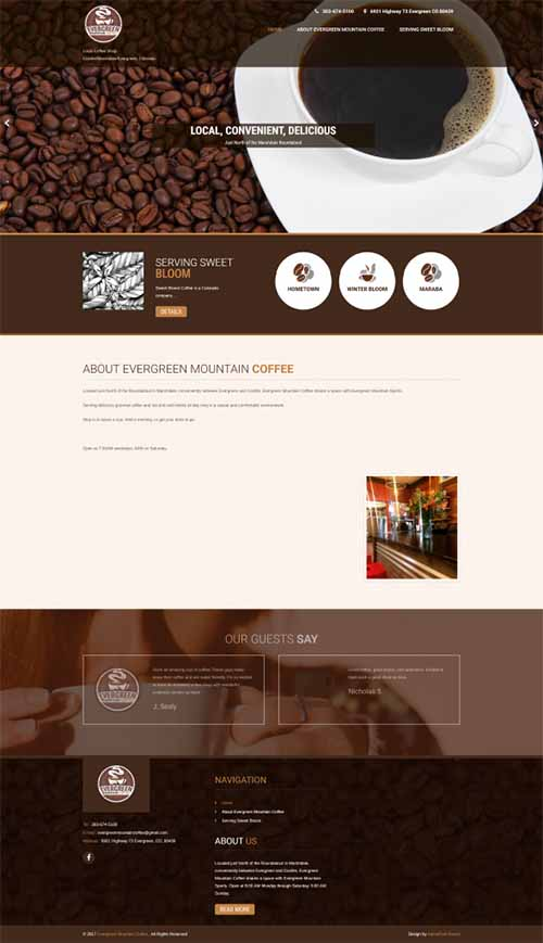 Restaurant Industry, Website Design