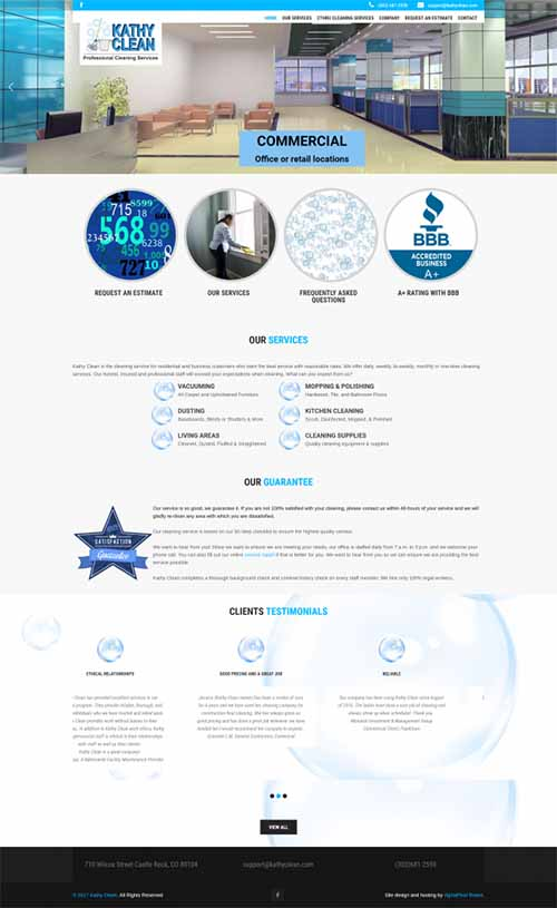 Service Industry, Website Design