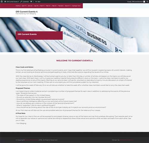 Education Industry, Website Design