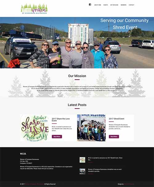 Non Profit Industry, Website Design