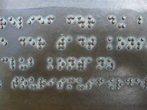 braille lettering