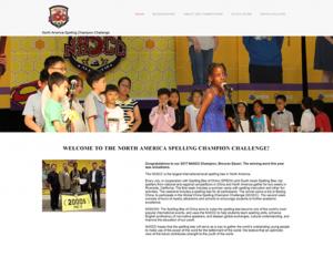 National Spelling Bee Website Design