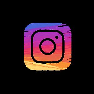 Instagram logo artistic